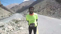 Runner Anenthu Sukumaran: Conquering Kargil with his feet