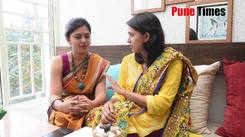 Mrunmayee and Gautami sharing their Ganeshotsav memories.