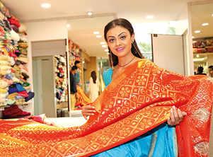 Actress Arina Dey enjoys all things Banarasi
