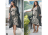 Neha Dhupia flaunts her baby bump as she continues to work through pregnancy