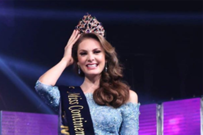 Andrea Saénz of Mexico crowned Miss United Continents 2018