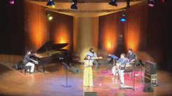 Jazz singer Sanjeeta Bhattacharya performs at a tribute gig