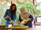 Duchess Meghan launches London Grenfell cookbook