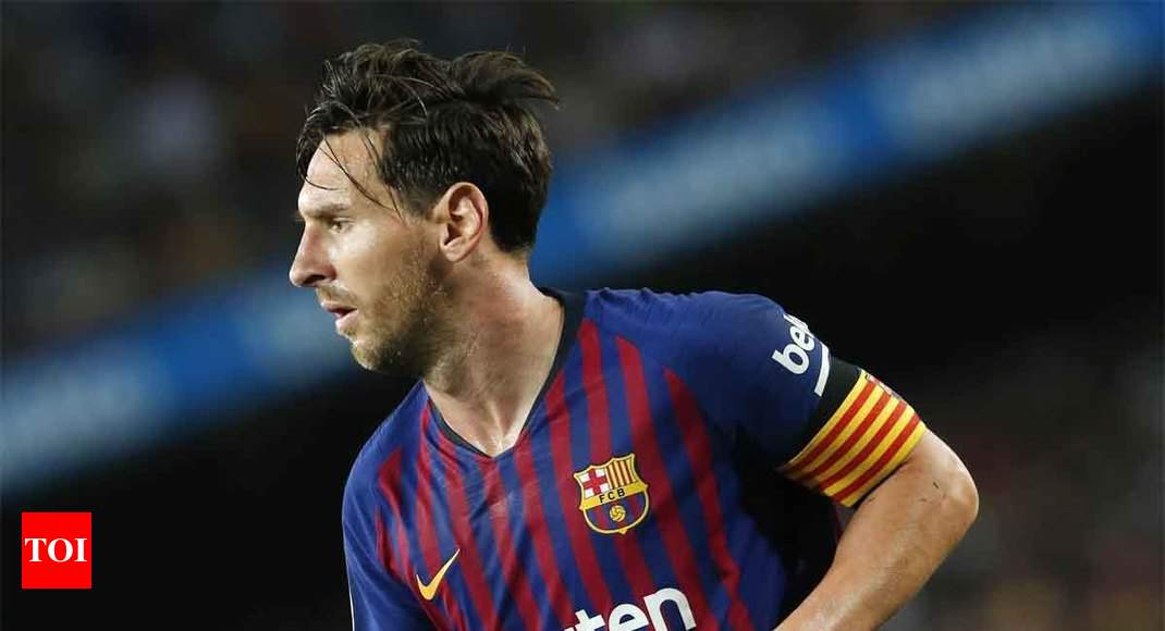 Lionel Messi Sets Another Record In Spain But Barcelona Lose Points Football News Times Of India