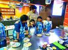 Kids enjoy no-fire cooking