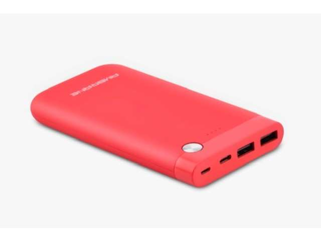 Ambrane India launches red variant of its 10000mAh power bank, priced at Rs 2,499