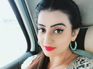 Photo: Akshara Singh shows off her striking facial features in her latest selfie