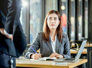 Why women struggle more after promotion