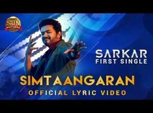 'Sarkar' first song: Sing along to 'Simtaangaran' with the lyric video
