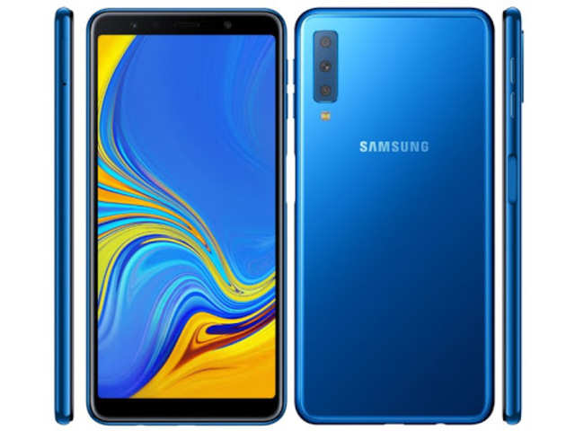 89f30d084 Samsung Galaxy A7 (2018) launched with triple-lens rear camera starting at  Rs
