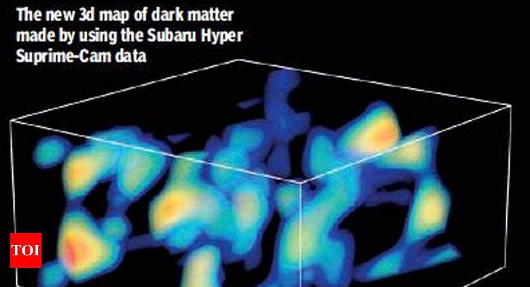 scientists design 3d map showing how dark matter shaped universe