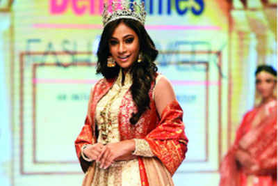 """""""My first walk on the ramp after winning Miss India was special"""""""