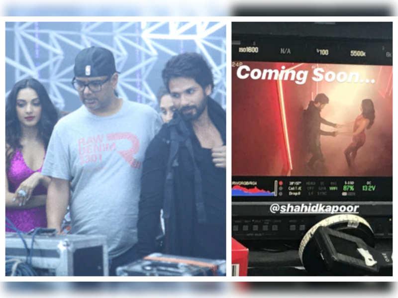 Watch: The teaser of Yo Yo Honey Singh's music video 'Urvashi' starring Shahid Kapoor and Kiara Advani out