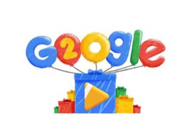This Google doodle celebrates search engine's 20th birthday