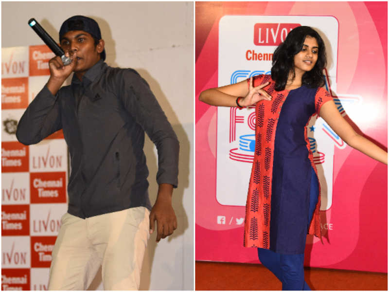 Hariharan and Sreeshaa won the Times Fresh Face Season 11 auditions at Rajalakshmi Engineering College
