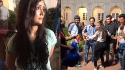 Some fun moments on the sets of upcoming Gujarati film 'Order Order'