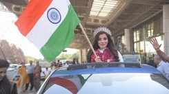 Aditi Hundia comes home to a superstar's welcome