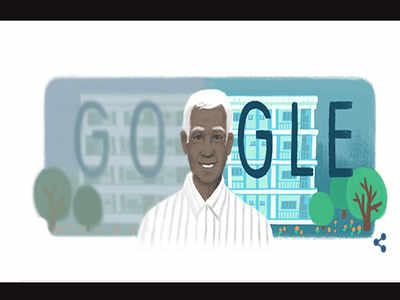 Google doodle honours Indian ophthalmologist Dr Govindappa Venkataswamy