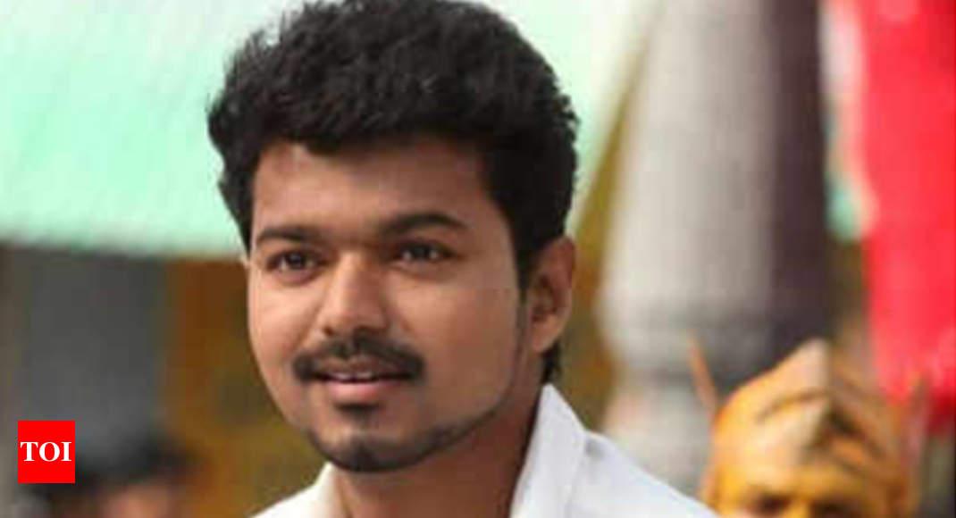 Actor Vijay Hints At Political Career Chennai News Times Of India