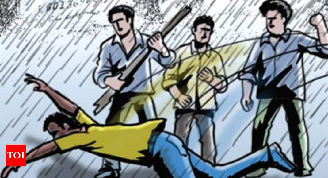 16-year-old beaten, flogged by four men