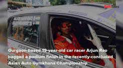 Gurgaon teen racer finished third at Asian Auto Gymkhana Championship
