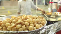 Were you a part of this Golgappa festival in Delhi?