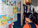 Students spread message through poster competition