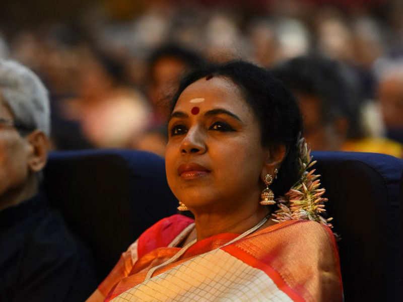 Sudha Ragunathan will appear as herself in Nandini: Khushbu