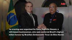 Delhiites raise a toast to Indo-Brazilian bond