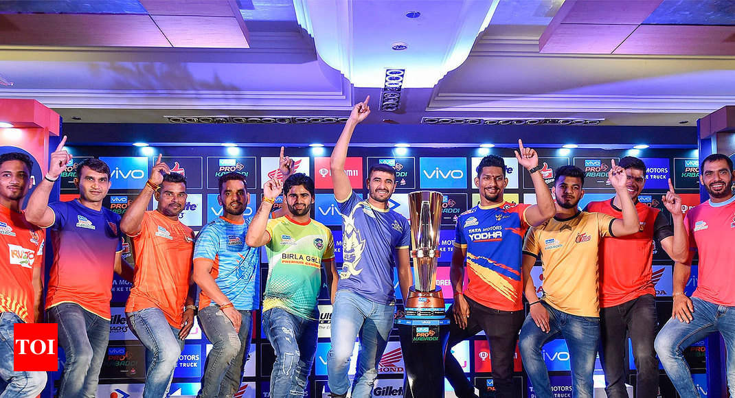 Pkl 6 Schedule 2018 Pro Kabaddi 2018 Schedule Match Timing
