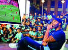 Gurugrammers root for their favourite clubs with Joleon Lescott