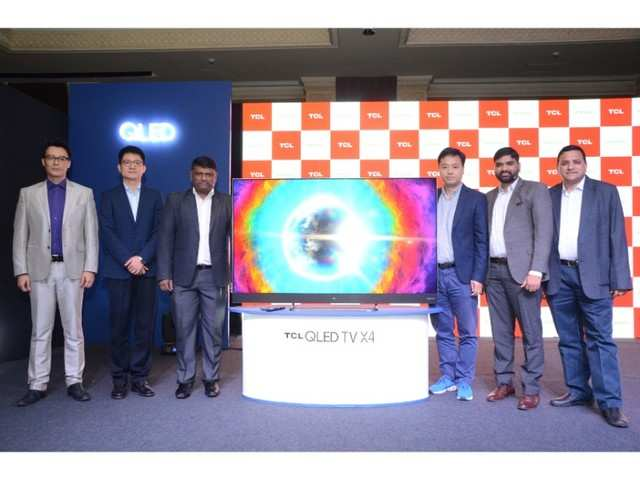 TCL has unveiled its new 4K UHD QLED 65X4 smart TV: TCL launches 4K