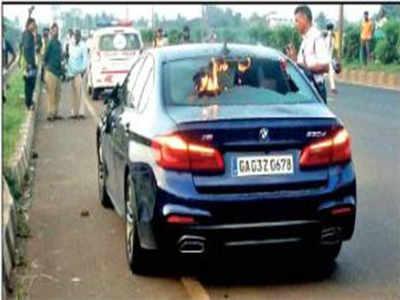 Bmw Driving Bmw Goa Mla S Son Mows Down 20 Year Old In Belagavi