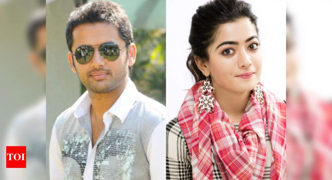 Bheeshma Rashmika Mandanna To Be Paired Opposite Nithiin In Venky Kudumula S Film Telugu Movie News Times Of India