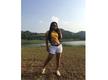 Bhojpuri actress Priyanka Pandit sizzles in a yellow crop top and white shorts