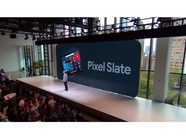 Google takes on Apple and Microsoft's tablets with its new Pixel Slate