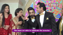 Jiji Maa completes one year, the team celebrates by cutting a cake