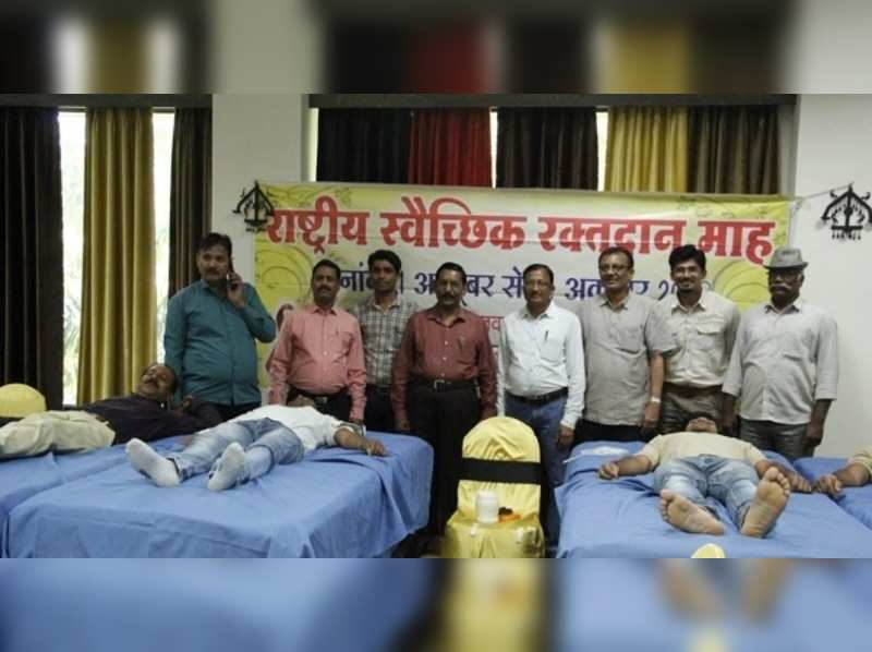 Overwhelming response to blood donation camp