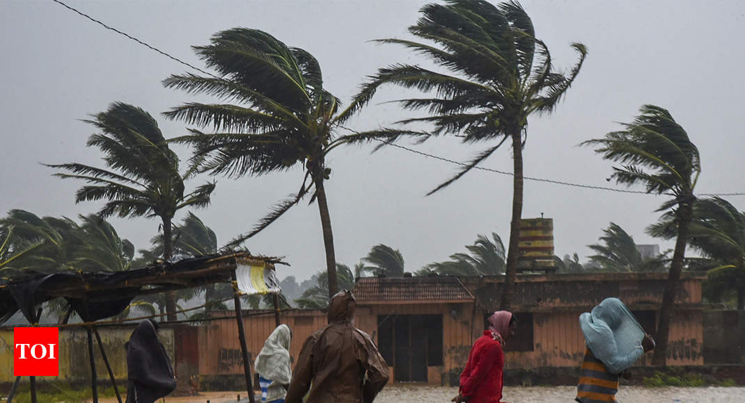 Cyclone Titli Update No Loss Of Life Reported In Odisha Bhubaneswar News Times Of India