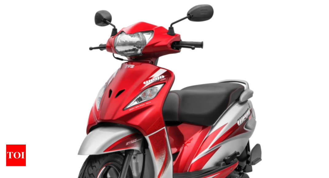 Tvs Wego New Tvs Wego Scooter Launched At Rs 53 027