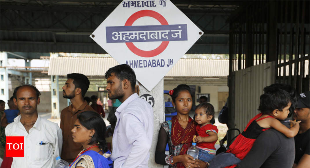 Migrants make up 70% of workforce in Surat, 50% in Ahmedabad: Study - Times of India