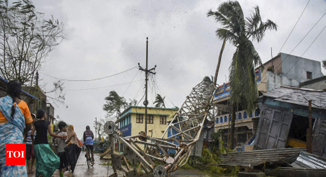 Cyclone Titli weakens into deep depression; Odisha rivers in spate - Times of India