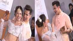 Prince Narula and Yuvika Chaudhary's cozy dance at their Sangeet