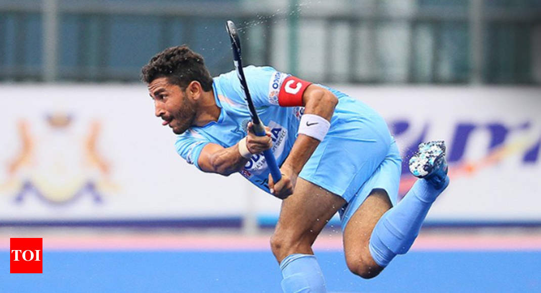Final spot secured, India suffer first defeat in Sultan of Johor Cup - Times of India