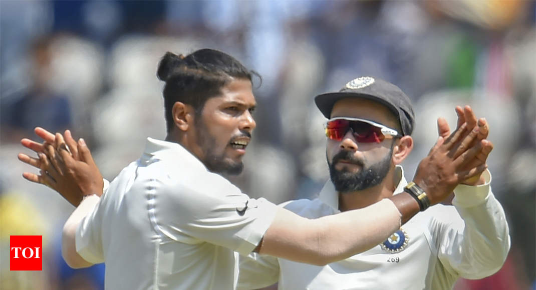 Difficult to contain lower-order with SG Test balls: Umesh Yadav - Times of India