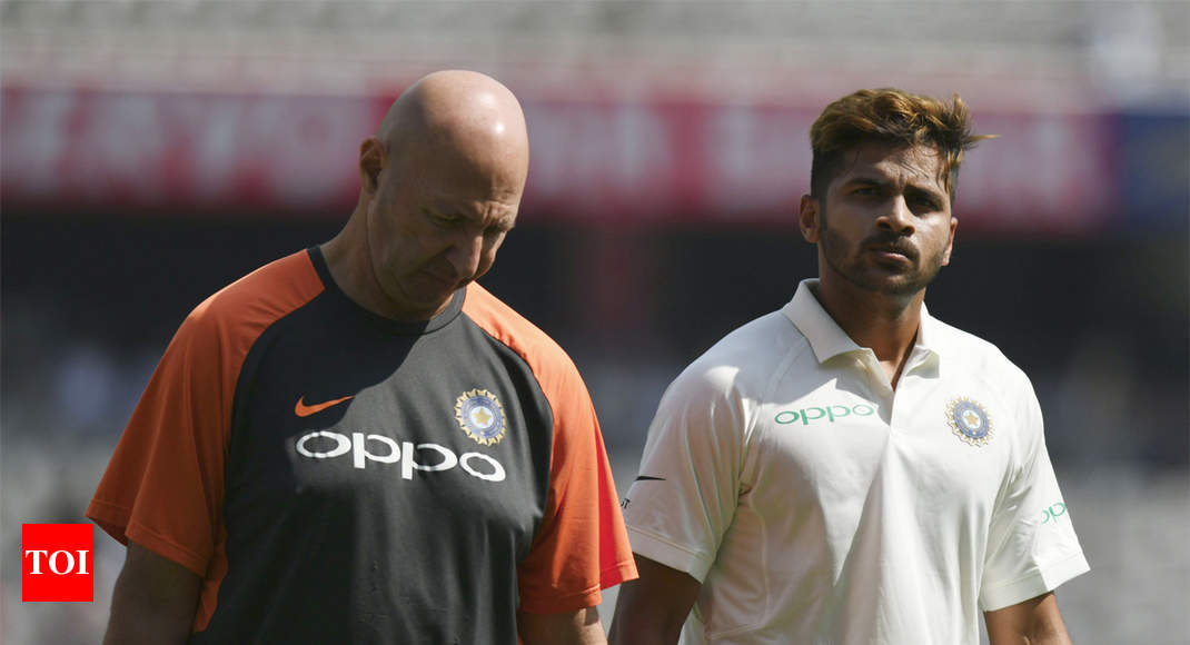 NCA rehab under scanner as debutant Shardul Thakur all but ruled out of 2nd Test - Times of India