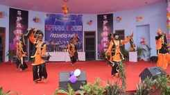 Freshers' party organised at University Maharaja College in Jaipur