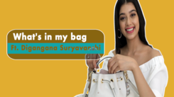 What's In My Bag with Digangana Suryavanshi