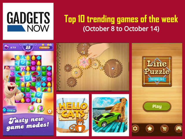 Top 10 trending games of the week (October 8 to October 14)