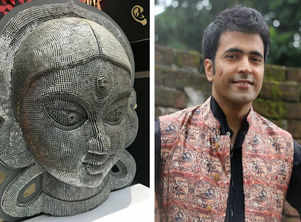 Abir Chatterjee is moved by this south Kolkata puja mandap theme